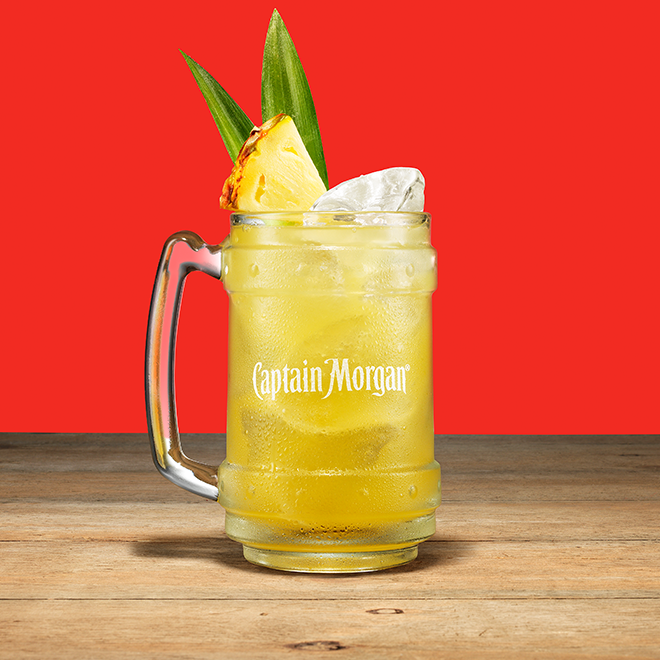Cocktails Captain Morgan