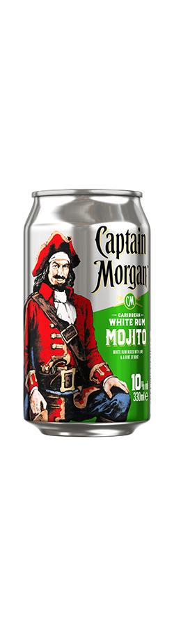 Captain Morgan White Rum Mojito Fertig Gemixt Captain Morgan
