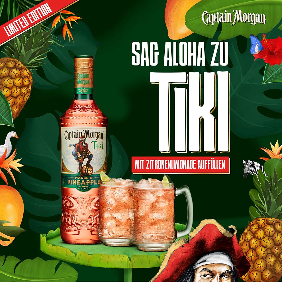 Rezepte Fur Cocktails Und Drinks Mit Rum Captain Morgan